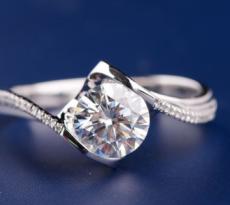莫桑钻爪镶戒指有两个明显的优势,你知道吗?