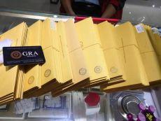 莫桑石 : GRA证书权威吗?